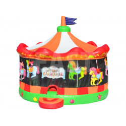Casa Hinchable De Carrusel Inflable Divertido