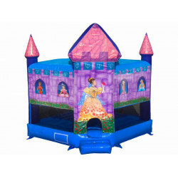 Castillo Inflable De Princesas Disney
