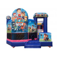Paw Patrol Inflable Con Tobogán