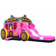 Princess Carriage Inflable