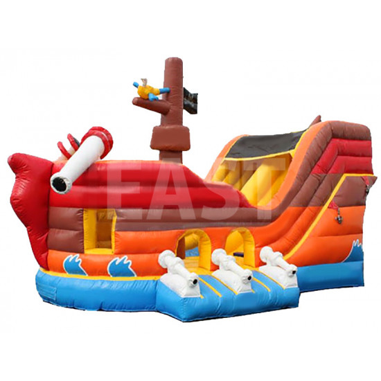 Tobogan Inflable Del Pirate Ship