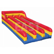 Bungee Inflable Run Three Lane