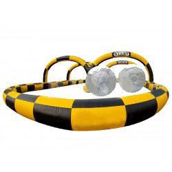 Pista De Carreras Inflable Hamster Ball
