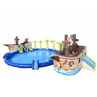 Parque Acuático Inflable De Pirate Ship