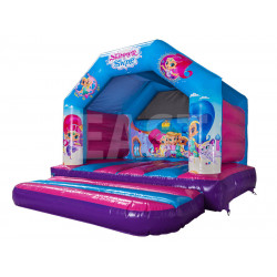 Castillo Hinchable Shimmer And Shine