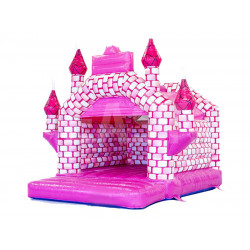 Castillo Hinchable Rosa