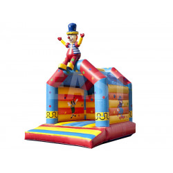 Castillo Hinchable De Payaso
