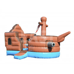 Castillo Hinchable De Pirate Ship