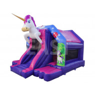 Castillo Hinchable Unicornio