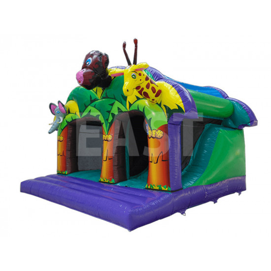 Jungle Castillo Hinchable Tobogan