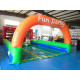Derby Inflable 3 Carril